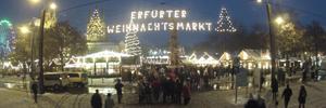 Zeitraffer – Weihnachtsmarkt Erfurt