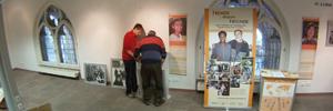 Zeitraffer – Aufbau Ausstellung